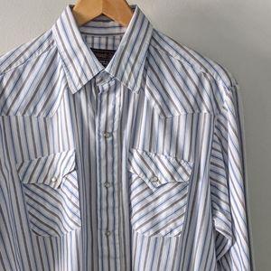 Panhandle Slim Men's Striped Shirt